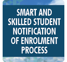 CHS SmartandSkilledStudentNotificationOfEnrolmentProcess